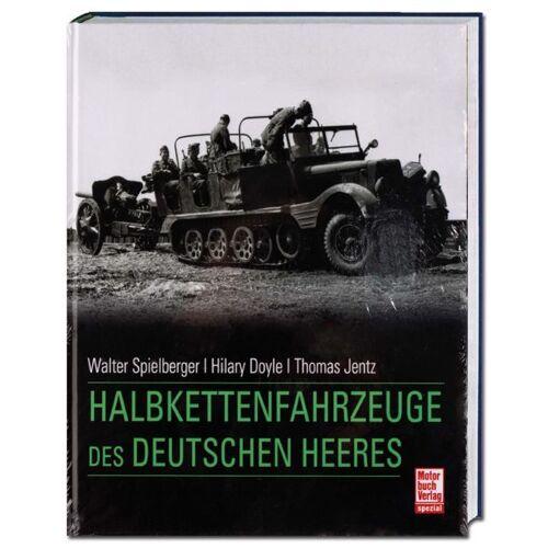 Motorbuchverlag Buch Halbkettenfahrzeuge des deutschen Heeres