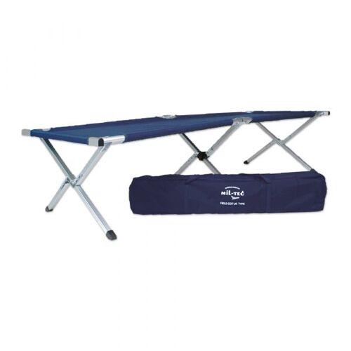 Mil-Tec US Feldbett Style blau
