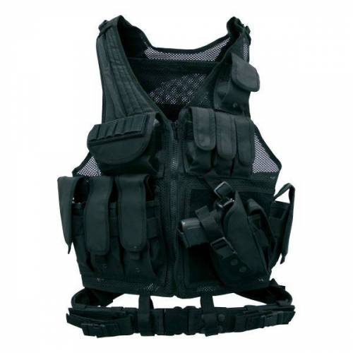 Zone Tactical Weste Combat Zone schwarz