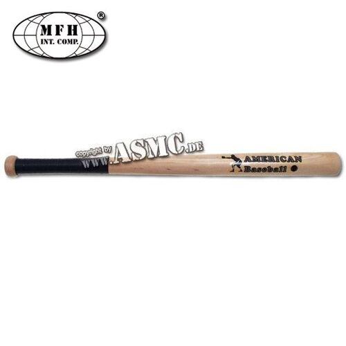 MFH Baseballschläger Holz natur 26