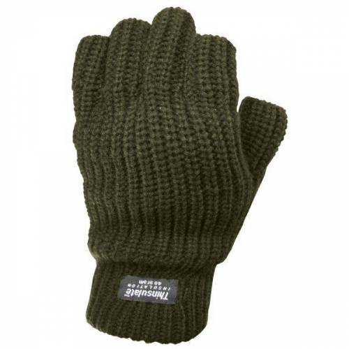 Handschuhe Fingerlinge Thinsulate oliv
