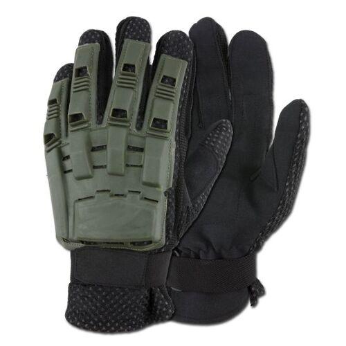 Gotcha-Paintball Handschuhe Fullfinger oliv