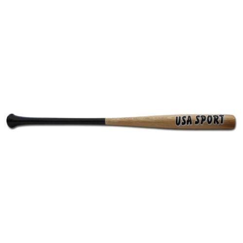 Baseballschläger Holz Natur 34