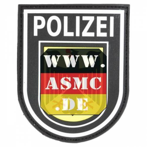 Jackets To Go 3D-Patch Bundespolizei bunt
