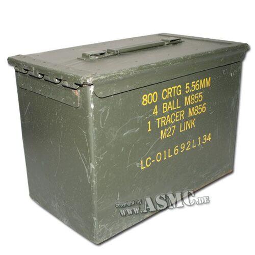US Army Munikiste US 5.56 mm gebraucht