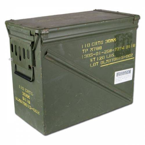 US Army Munikiste US Größe 7 gebraucht