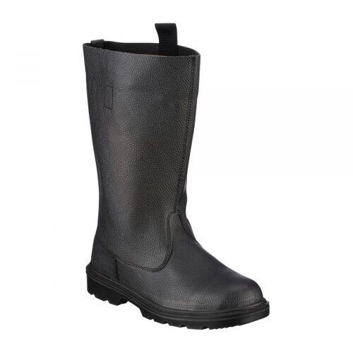 Mil-Tec Stiefel Knobelbecher Leder schwarz