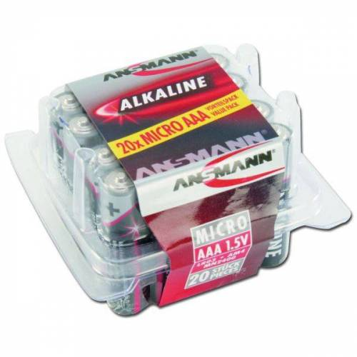 Ansmann Batterie Ansmann Micro AAA Red-Line 20er-Box
