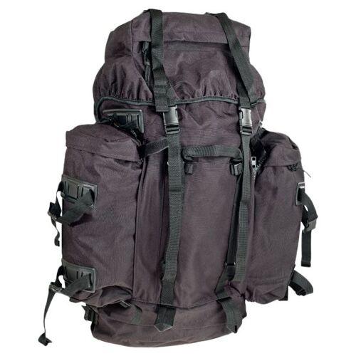 BW Rucksack Mountain 100 L schwarz