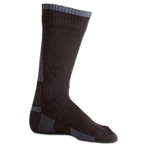 Sealskinz Socken SealSkinz Mid-Light schwarz