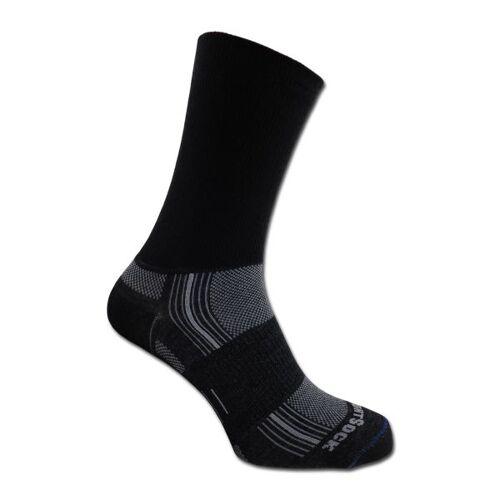 Wrightsock Socken Wrightsock Silver Stride doppel-lagig schwarz