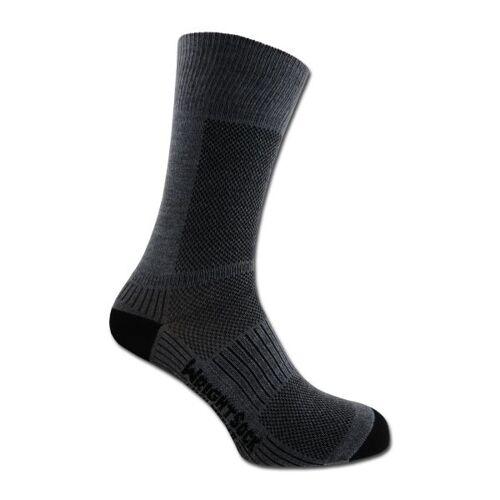 Wrightsock Socken Wrightsock Coolmesh II doppel-lagig grau