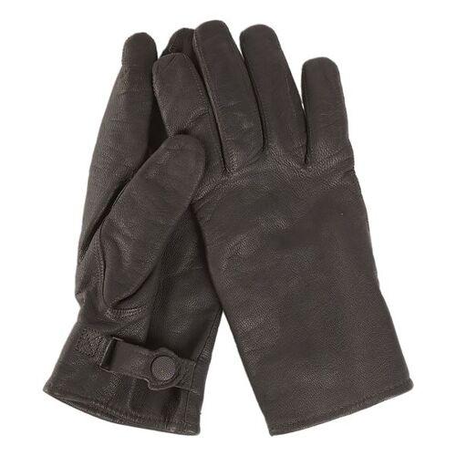 Mil-Tec BW Handschuhe Ziegenleder gefüttert schwarz