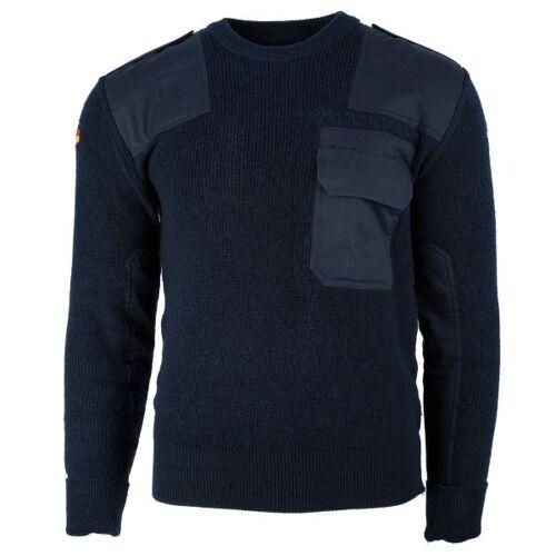 Bundeswehr Original BW Pullover blau gebraucht
