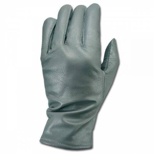 BW Lederhandschuhe grau
