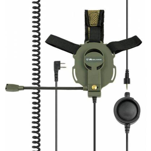 Midland Headset Bow-M Evo Tactical Military