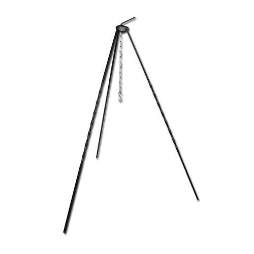 Dreibein für Grill/Gulaschkessel mit Kette 1 m