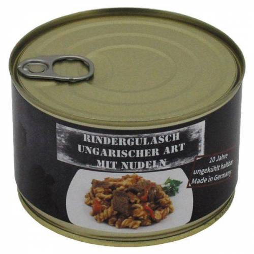 MFH Rindergulasch ungarisch mit Nudeln Vollkonserve 400 g