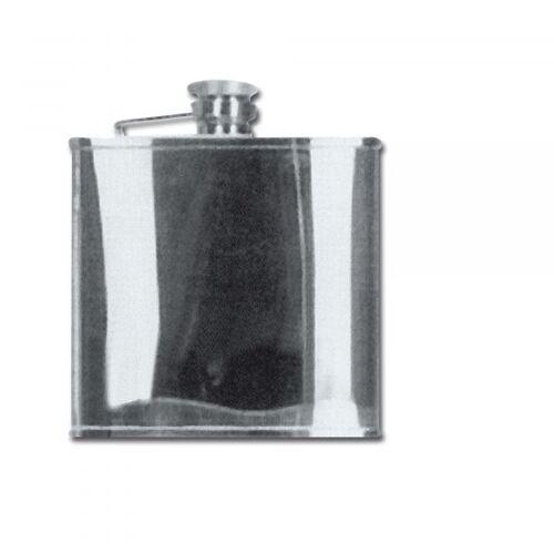 Flachmann Edelstahl 120 ml