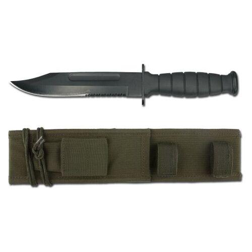 Mil-Tec Messer US ARMY mit Scheide oliv