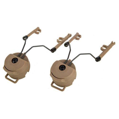 FMA Helmadapter Headset Comtac I/II tan
