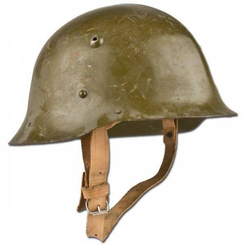 Bulgarische Armee Stahlhelm bulgarisch WWII gebraucht
