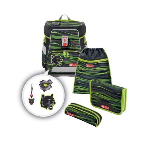 Step by Step Space Schulranzen-Set Wild Cat (00138950) Schulranzen-Set grün