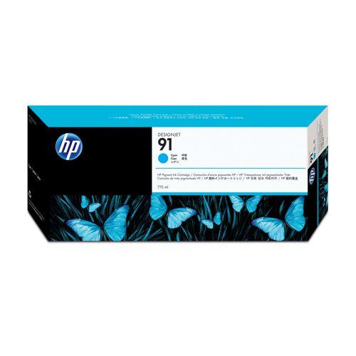HP 91 Cyan 775 ml Ink Cartridge Ink cartridge used with the C9467A