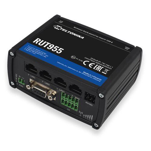 Teltonika Router RUT955 LTE Din rail + GNSS antenna RUT955V03020