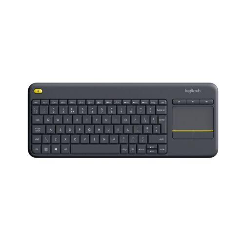 Logitech Wireless Touch Keyboard K400 Plus Black (UK English) 920-007143