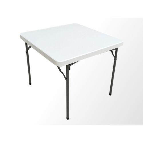 Dancover Bankett-Tisch PRO 88x88x74cm, Hellgrau (1 St.)