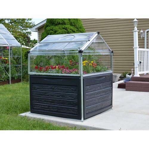 Dancover Mini-Gewächshaus 1,18x1,18x1,48m PLANT INN, durchsichtig