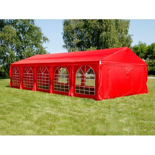 Dancover Partyzelt Festzelt UNICO 5x10m, Rot