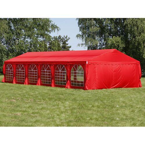 Dancover Partyzelt Festzelt UNICO 6x12m, Rot