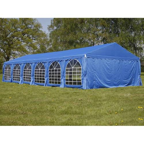 Dancover Partyzelt Festzelt UNICO 6x12m, Blau