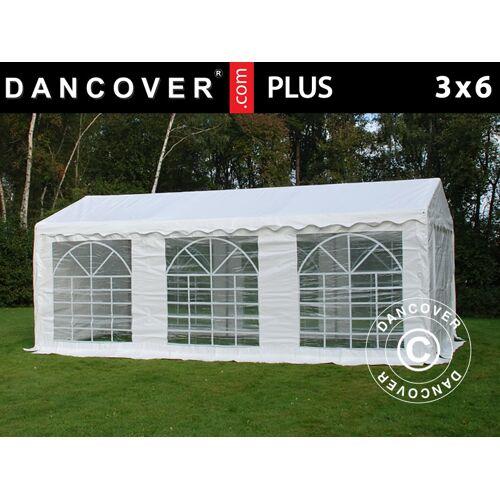 Dancover Partyzelt Festzelt PLUS 3x6m PE, Weiß