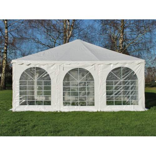 Dancover Pagodenzelt Exclusive 6x6m PVC, Weiß