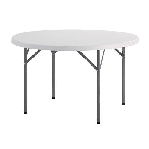 Dancover Runder Bankett-Tisch PRO Ø116 cm, hellgrau (1 St.)
