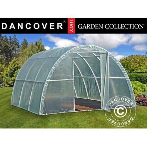 Dancover Foliengewächshaus 140, 3x3,6x1,9m, 10,8m², Durchsichtig