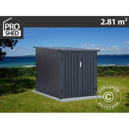 Dancover Fahrradbox 1,42x1,98x1,57m ProShed®, Anthrazit