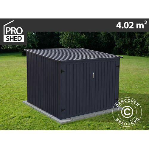 Dancover Fahrradbox 2,03x1,98x1,57m ProShed®, Anthrazit