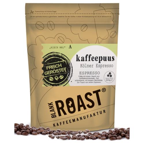 '''Kaffeepuus'' Espresso Kölner Röstung' BLANK ROAST