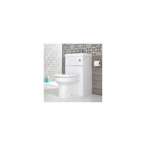 Hudson Reed 2-in1 Kombination aus Toilette und Waschbecken Weiß - Cluo