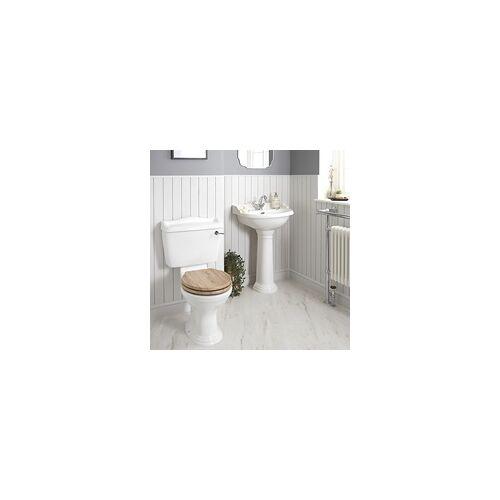 Hudson Reed Nostalgie WC- und Säulenwaschbecken-Set - Ryther