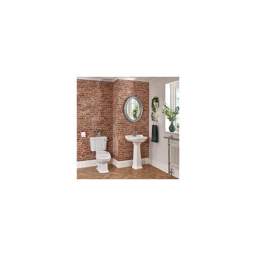 Hudson Reed Nostalgie WC- und Säulenwaschbecken-Set - Richmond