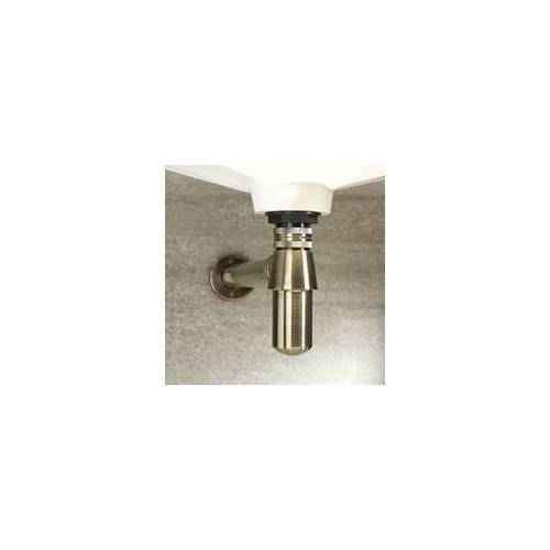 Hudson Reed Siphon für Waschbecken, antikes Gold Messing - Alice