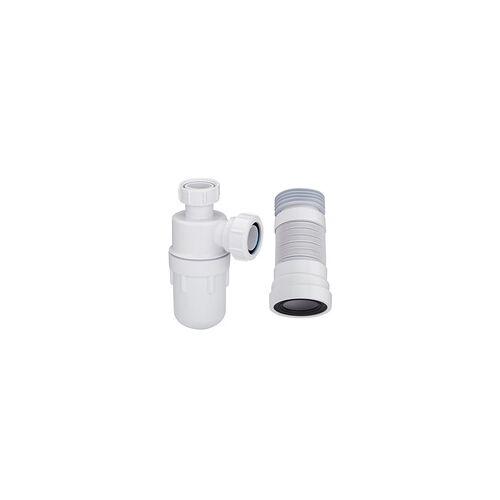 Hudson Reed Waschbecken-Siphon und WC-Abflussrohr