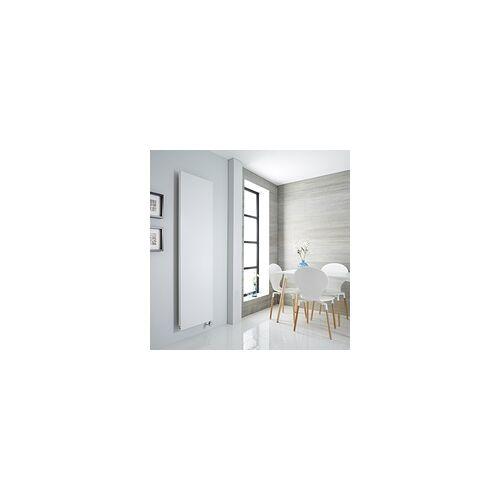 Hudson Reed Design Flachheizkörper Elektrisch 1800 x 500mm Vertikal Weiß - Rubi