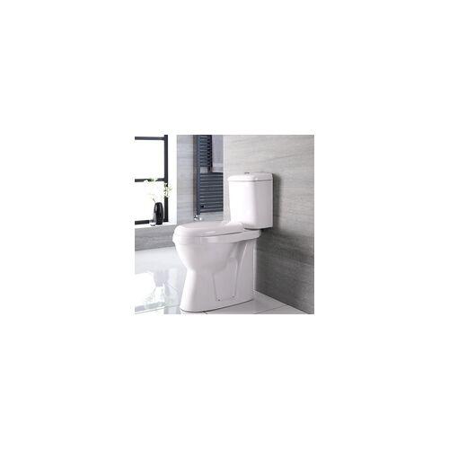 Hudson Reed Erhöhtes Stand WC, H 47cm Abgang waagrecht - Doc-M behindertengerecht