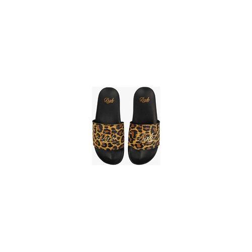 DGK Hausschuhe DGK - Big Cat Slide Slippers Black (BLACK)